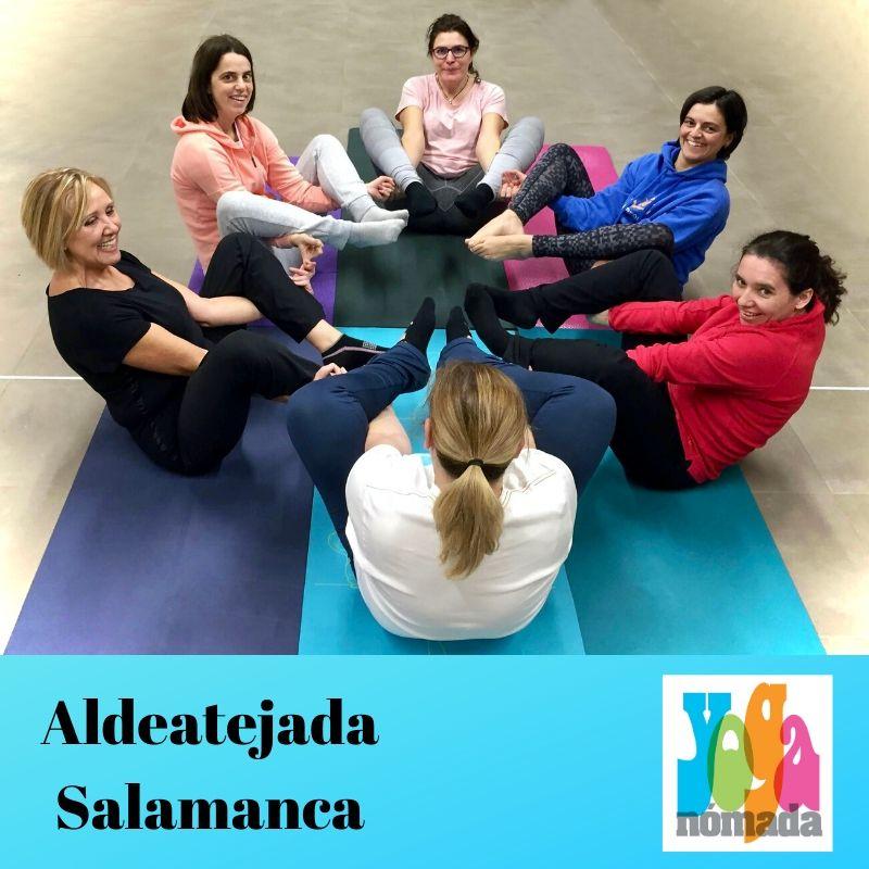 Yoga en Aldeatejada
