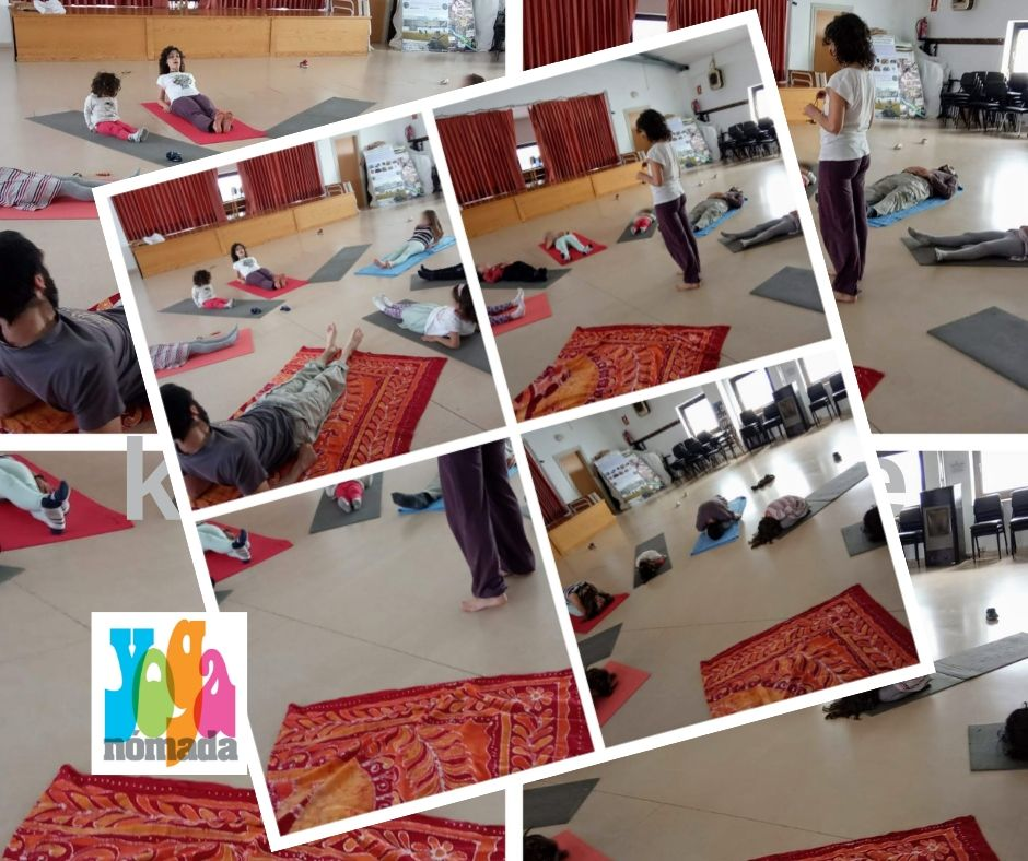 Yoga Nómada en la Escuela Wayra