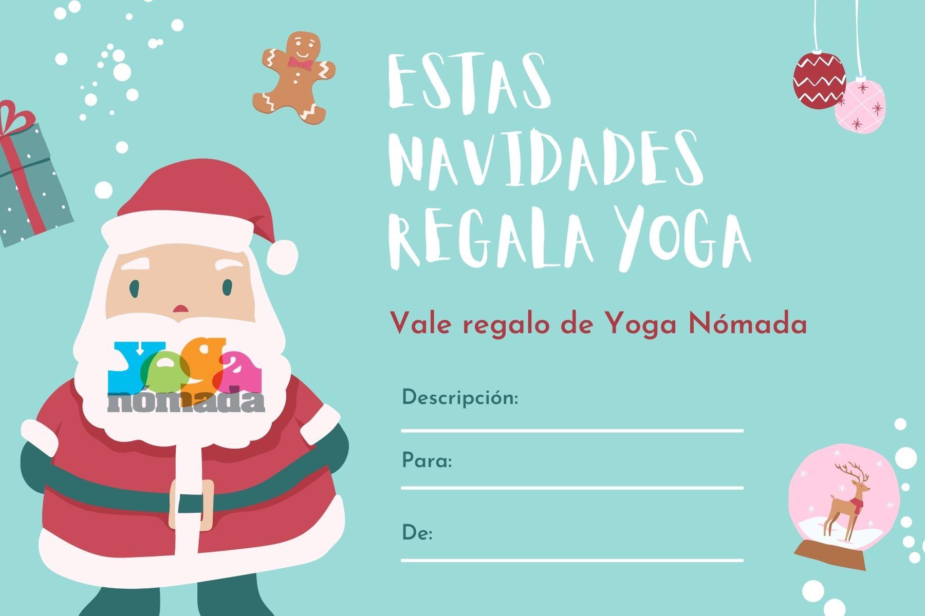 Cheques Regalo de Yoga Nómada 🧚🏼♀️