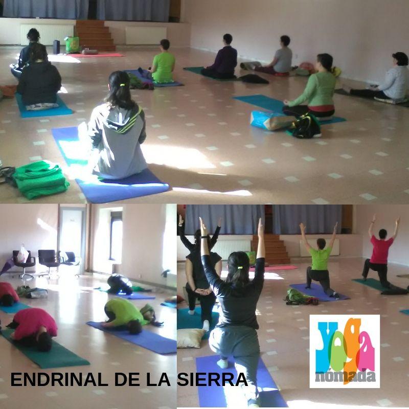 Yoga en Endrinal de la Sierra
