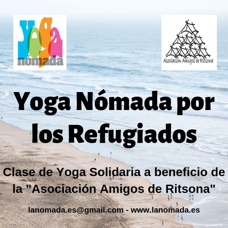 Yoga Nómada por los Refugiados