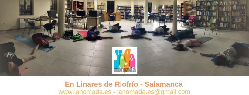 Yoga en Linares de Riofrío