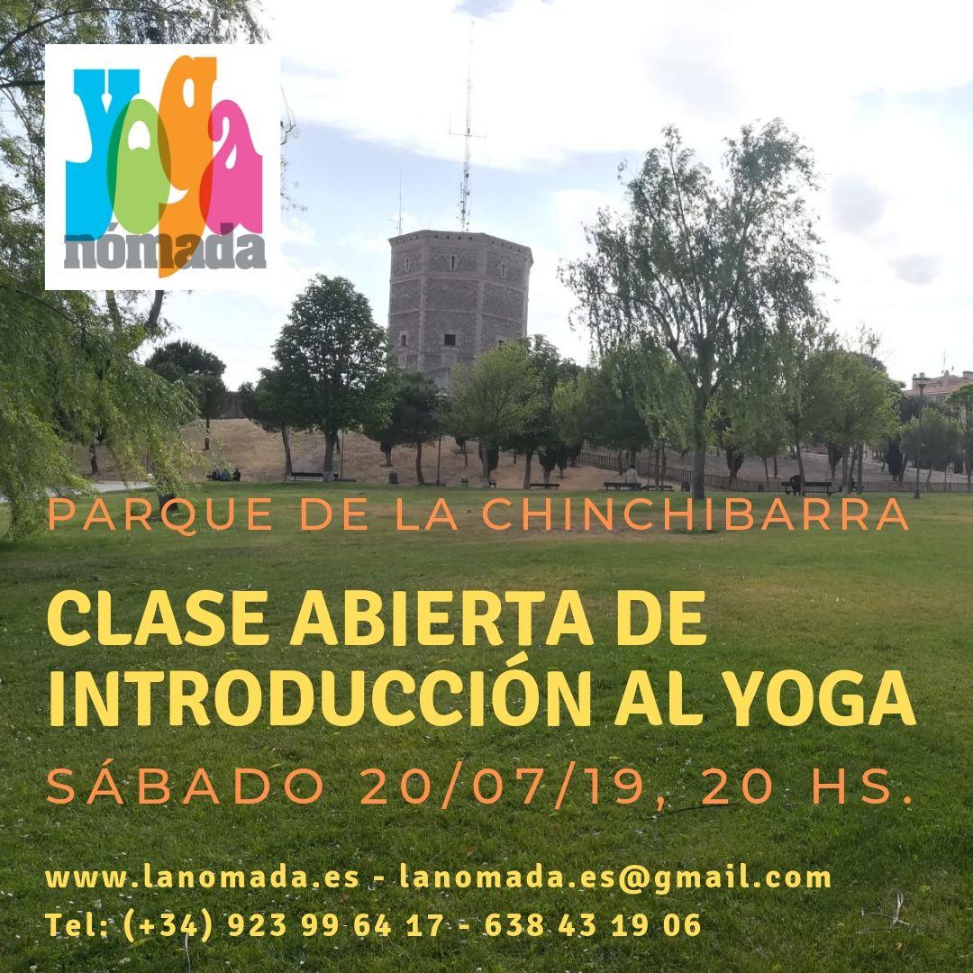 Clase Abierta de Introducción al Yoga en el Parque!