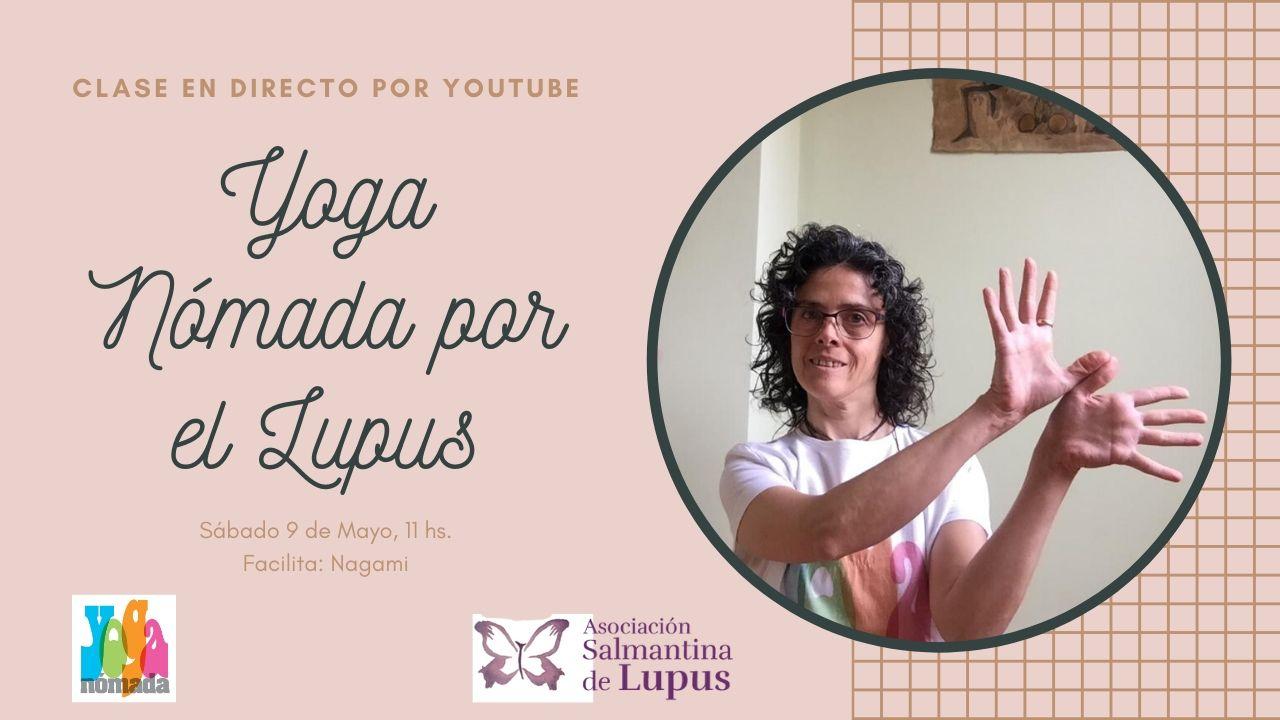 Directo por Youtube: Yoga Nómada por el Lupus