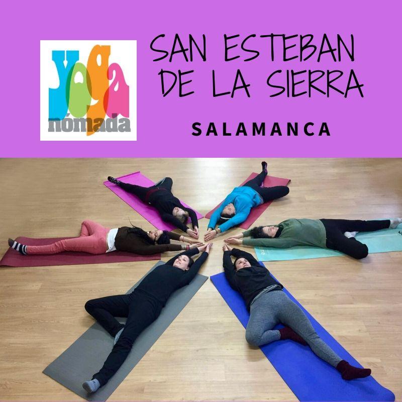 Yoga en San Esteban de la Sierra